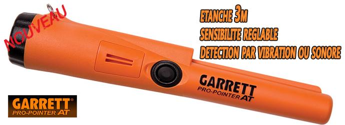Nouveau Detecteur de metaux Garrett Pro-Pointer AT