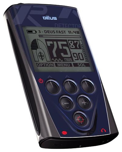 detecteur de metaux XP Deus, telecommande