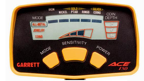 Boitier detecteur de metaux Garrett Ace 150