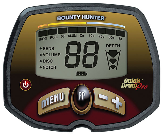 detecteur de metaux bounty hunter Quick Draw Pro