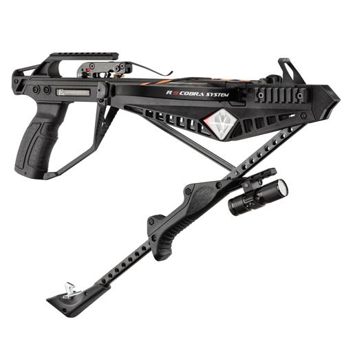Pistolet arbalète Cobra système R9 armement