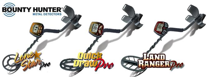 vente de détecteurs de métaux Bounty Hunter Lone Star, Quick draw pro, Land Ranger Pro