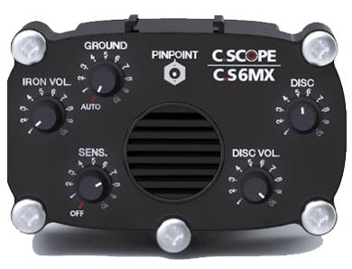 Boitier detecteur de metaux Cscope CS 6 MXi